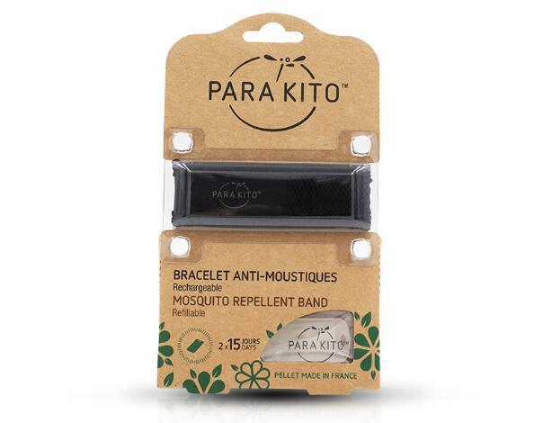 【包邮装】Para& 039Kito 帕洛 天然驱蚊手环 黑色  110元(券后包邮包税价) 110元(券后包邮包税价)