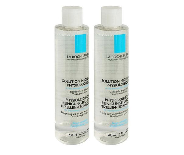 【包邮】La Roche-Posay 理肤泉 均衡清润卸妆水 2x200ml  159元(券后包邮包税价)