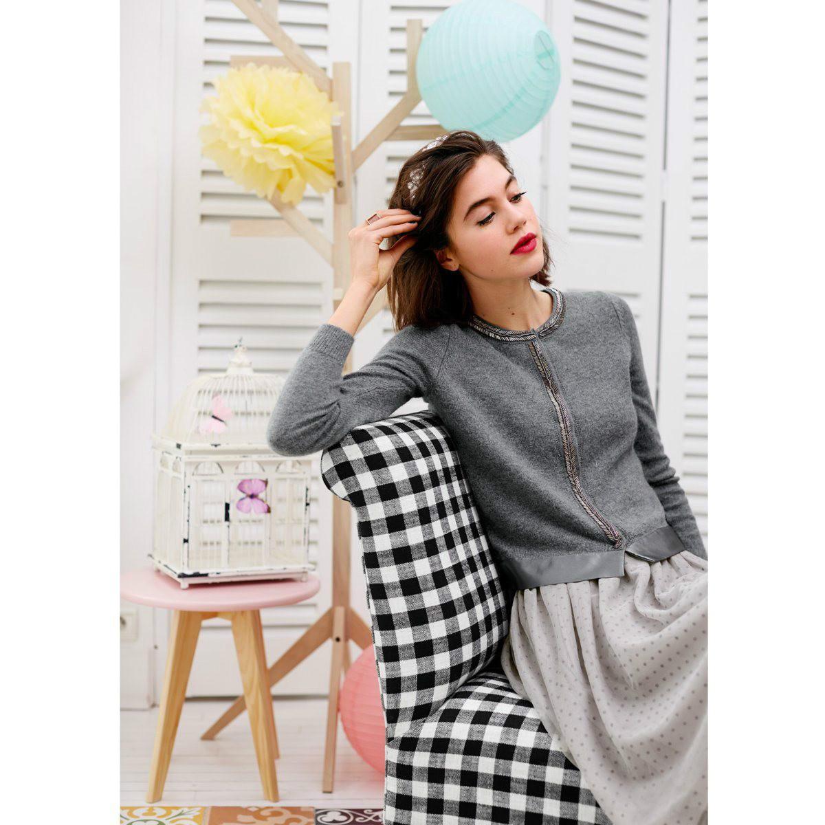 【法国LR】单品特价:Mademoidelle R 波点网纱半身裙仅需24 5欧!