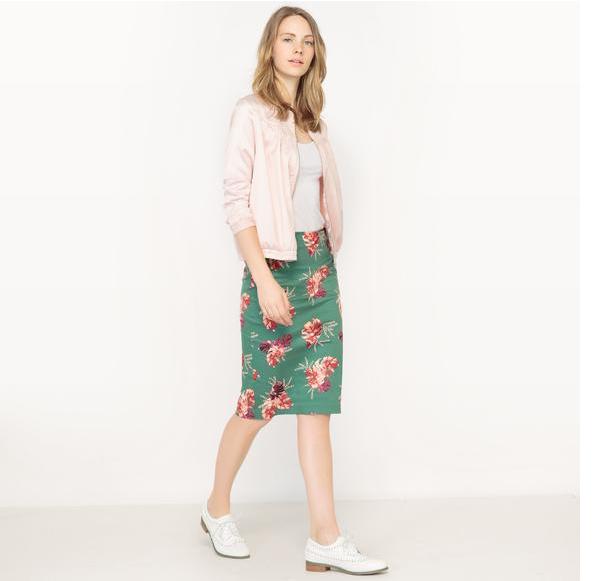 【法国LR】单品特价:R edition 花卉印花包臀半裙仅需24 99欧!
