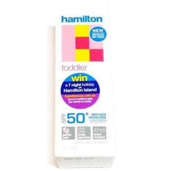 Hamilton 汉密尔顿 幼儿防晒霜 SPF50+ (滚珠) 50ml(温和、防晒)【全场满85澳免邮2 5kg】