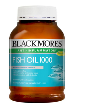 Blackmores 深海鱼油胶囊 400粒【全场满85澳免邮2 5kg】