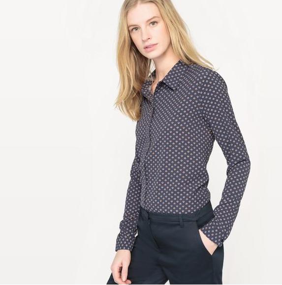 【法国 LR】单品特价R essentiel 印花长袖衬衫仅需64 99欧!