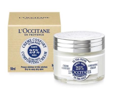 【欧舒丹全场9折】Loccitane 欧舒丹 25%乳木果保湿凝霜 50ml