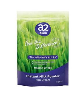 A2 高钙全脂奶粉 学生 成人 中老年人 1kg【全场满85澳免邮2 5kg】