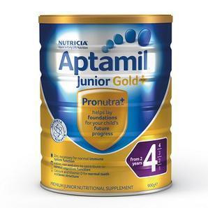【澳洲Amcal 全场任购3件9折】Aptamil 爱他美 金装4段婴幼儿奶粉 900g