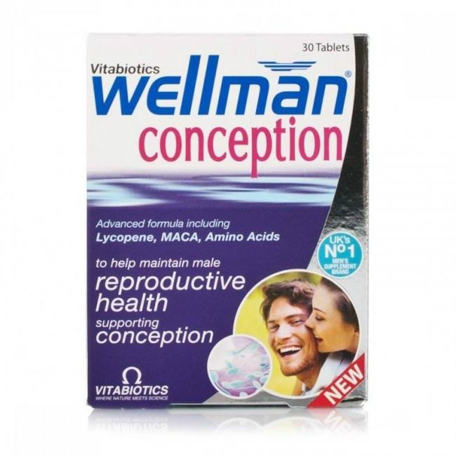 【8折特惠】Vitabiotics Wellman 男性备孕营养片 30片