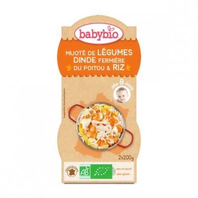厨房里的法式优雅 厨具专区95折(BM95)伴宝乐 蔬菜炖火鸡婴儿辅食 200g2 适合8个月以上的宝宝