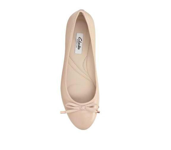 【法国LR】爆款秒杀包邮:CLARKS  Grace Lily平底芭蕾单鞋限时好价!