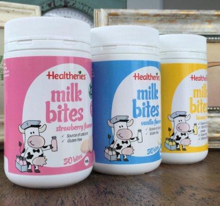 Healtheries 贺寿利 儿童零食高钙干吃牛奶片 50片(草莓味) 折后新低价AU$7 19 约37元