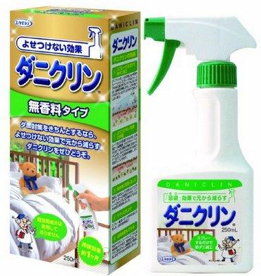 UYEKI专业除螨喷雾 家用杀菌防螨 绿色无香型 250ml 补货特价789日元 约¥48
