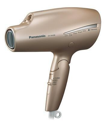 Panasonic松下电吹风机家用纳米水离子矿物质负离子风筒冷热风EH-NA98-PN 玫瑰金16000日元 约1016元