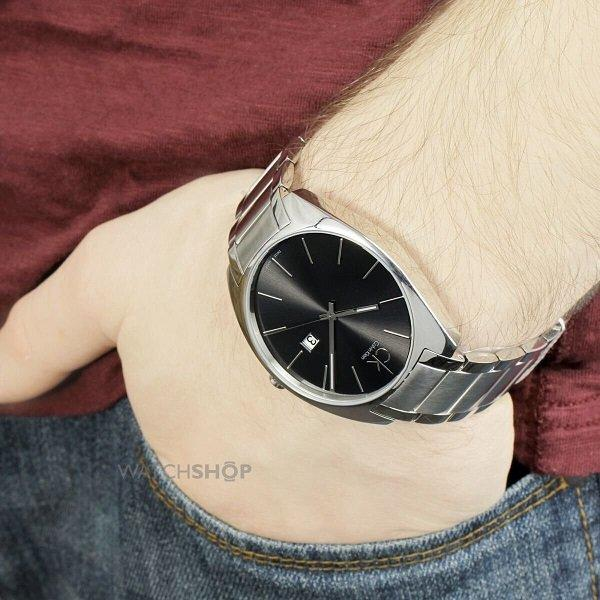 Calvin Klein Exchange系列 男士时装腕表 K2F21161 码后特价$68,转运到手约550元