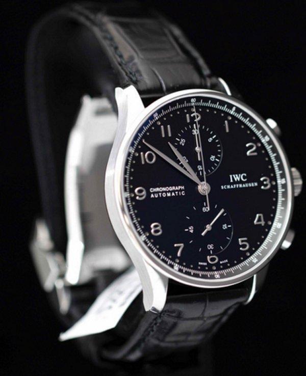 IWC 万国 葡萄牙计时系列 男款机械腕表 IW371447 码后特价$5199 99,转运到手约35960元