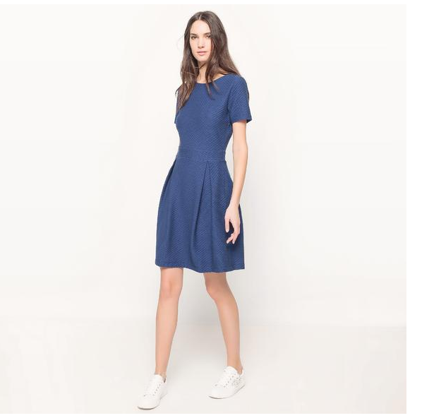 【法国 LR】单品特价 MADEMOISELLE R 提花连衣裙仅需49 99欧!