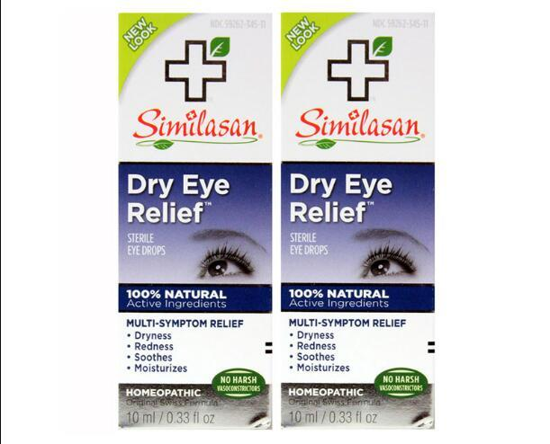 【2件包邮装】Similasan 干性眼药水 2x10ml 瓶   139元(券后包邮包税价)