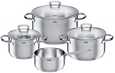 【推荐】Silit喜力特 马里诺系列 不锈钢套锅7件套(多重优惠+包税服务)