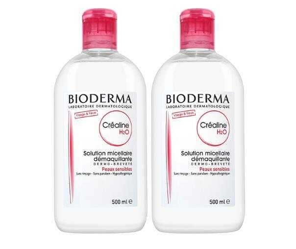 【2件包邮装】Bioderma 贝德玛 舒妍洁肤液卸妆水 2x500ml  178元(券后包邮包税价)