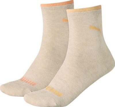 【推荐】Puma 短袜 2件装 米色 35-38号(多重优惠+全额税补)