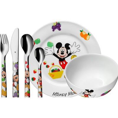 【推荐】WMF完美福 福腾宝 儿童餐具6件套 米老鼠系列(多重优惠+包税服务)