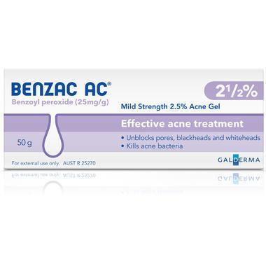 Benzac ac祛痘膏怎么样 Benzac ac祛痘膏推荐