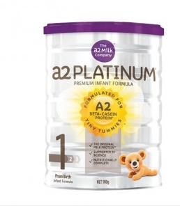 A2 白金版婴幼儿奶粉 900g 1段 6罐包邮装【新西兰PD折扣药房】307纽约¥1453