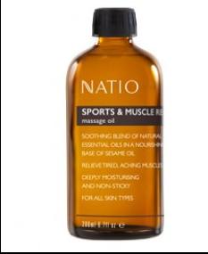 Natio 按摩精油 200ml 运动和肌肉恢复【新西兰PD折扣药房】26 7纽约¥126 5
