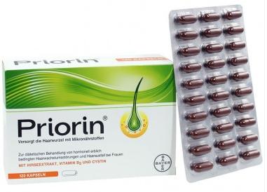 【德国DC】Priorin 女性专用防脱生发保健胶囊 120粒