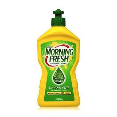 【澳洲PO药房】Morning Fresh 超级浓缩多功能餐具水果蔬洗洁精450ml(柠檬香型) AU$ 3 5约18元