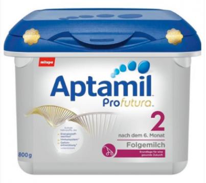 【德国DC】【数量有限,每单限购2罐】Aptamil 爱他美 Profutura 白金版2段婴幼儿奶粉 800g
