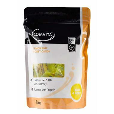 【澳洲PO药房】Comvita 康维他 天然蜂胶润喉糖UMF10+(柠檬和蜂蜜味)40粒    AU$ 19 95约102元