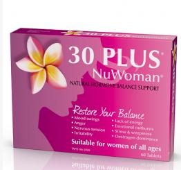销售冠军30 Plus NuWoman 女性荷尔蒙补充剂 60片【新西兰PD折扣药房】 28 4纽约¥134 6