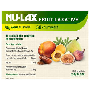Nu-Lax 乐康膏 天然果蔬排毒润肠通便 500g