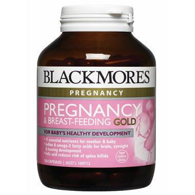 Blackmores 澳佳宝 孕期及哺乳黄金素营养胶囊 60粒(全场满99澳再减5澳)