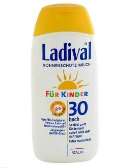 LADIVAL 儿童无香精防水防晒乳液 200ml 满68欧免邮