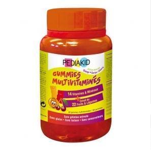 Pediakid佩迪克天然维生素小熊软糖 提升抵抗力 60粒