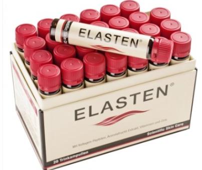 【德国DC】Elasten 伊莱 纯天然胶原蛋白美容抗衰老口服液 28支25ml