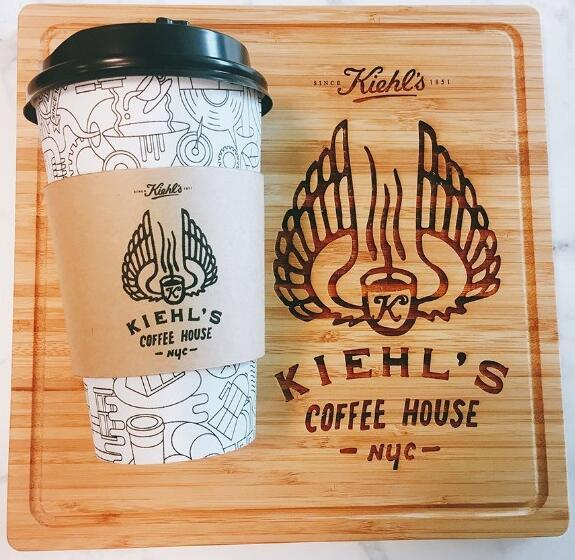 Kiehls科颜氏也要开咖啡店了 全球首家6月台北开业