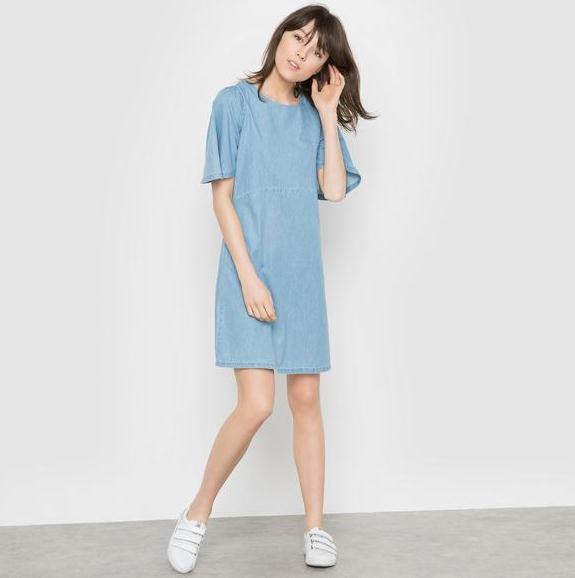 【法国LR】1件免邮+税补: 法国设计师品牌牛仔连衣裙享好价