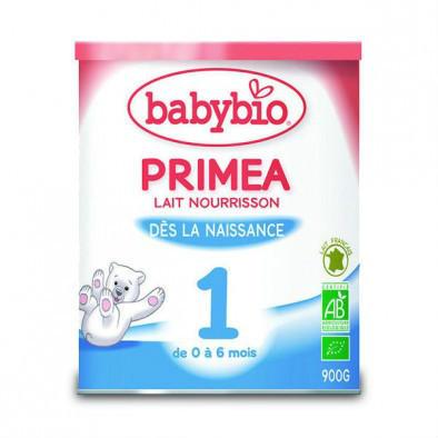 【法国BM彼洋美食】用码 MY66 3罐免邮 Babybio 伴宝乐1段 标准型有机奶粉 900g 约180元