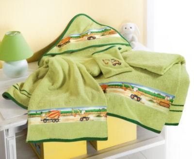 【德国EM】Kinderbutt 有机全棉 毛线圈毛巾 2件装 奇异果绿