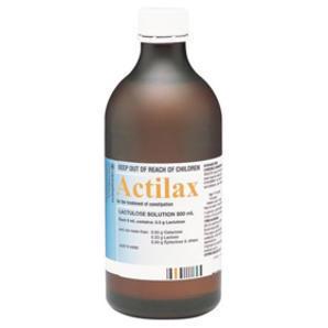 Actilax 乳果糖排毒通便口服液 500ml(孕产妇可用)