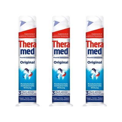 【3件包邮装】Theramed 汉高 泰瑞美 固齿防蛀牙膏 3x100ml/支 95元(券后包邮包税价)