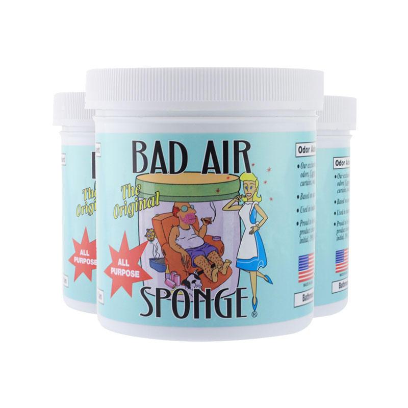 【3件包邮装】Bad Air Sponge 空气净化剂 3x400g 罐  259元(券后包邮包税价)