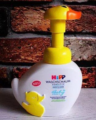 德国Hipp喜宝小鸭子儿童泡泡洗手洗脸液 无泪配方 250ml*2个装 好价€7 9,满68欧免邮到手约58元