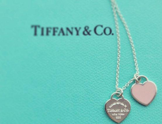 TIFFANY&CO 蒂凡尼 经典双心 925银饰项链 秒杀价¥999包邮包税,2色可选