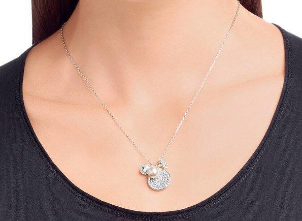 Swarovski 施华洛世奇 珍珠蝴蝶质感项链 特价459元包邮
