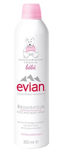 Evian 依云 天然矿泉水婴儿喷雾大喷 300ml