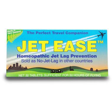 Jet Ease 顺势疗法缓解时差困扰 32粒 (全场满89澳减10澳,满99澳减16澳 )