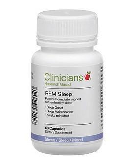 Clinicians 科立纯 天然睡眠胶囊 60粒 (促进睡眠,缓解压力)